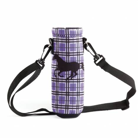 Tek Trek Neoprene Water Bottle Holder Plaid