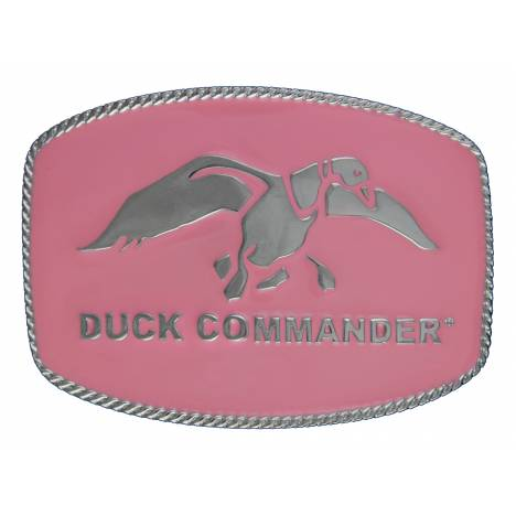 Montana Silversmiths Duck Commander Logo Medium Rectangular Attitude Buckle