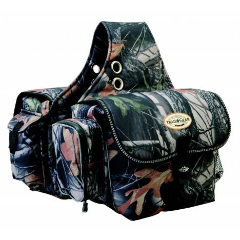 Weaver Leather Trail Gear Saddle Bag, Camo