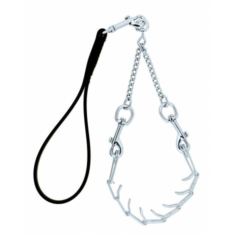 Weaver Leather Pronged Chain Goat Collar & Lead
