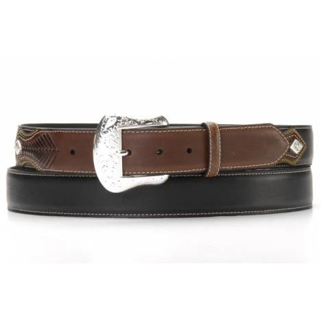 Nocona Mens Top Hand Two Tone Belt