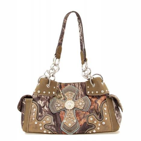 Blazin Roxx Cross Overlay Satchel