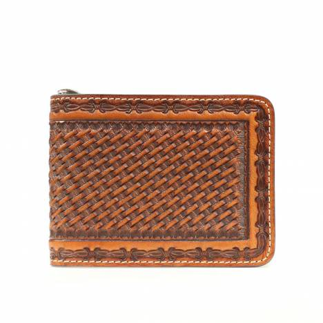 Nocona Mens Bi-fold Money Clip