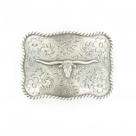Nocona Antique Longhorn Buckle