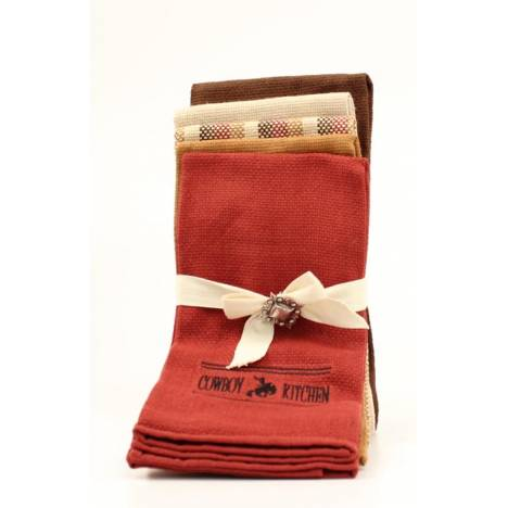 Western Moments Cowboy Kitchen Towel Set