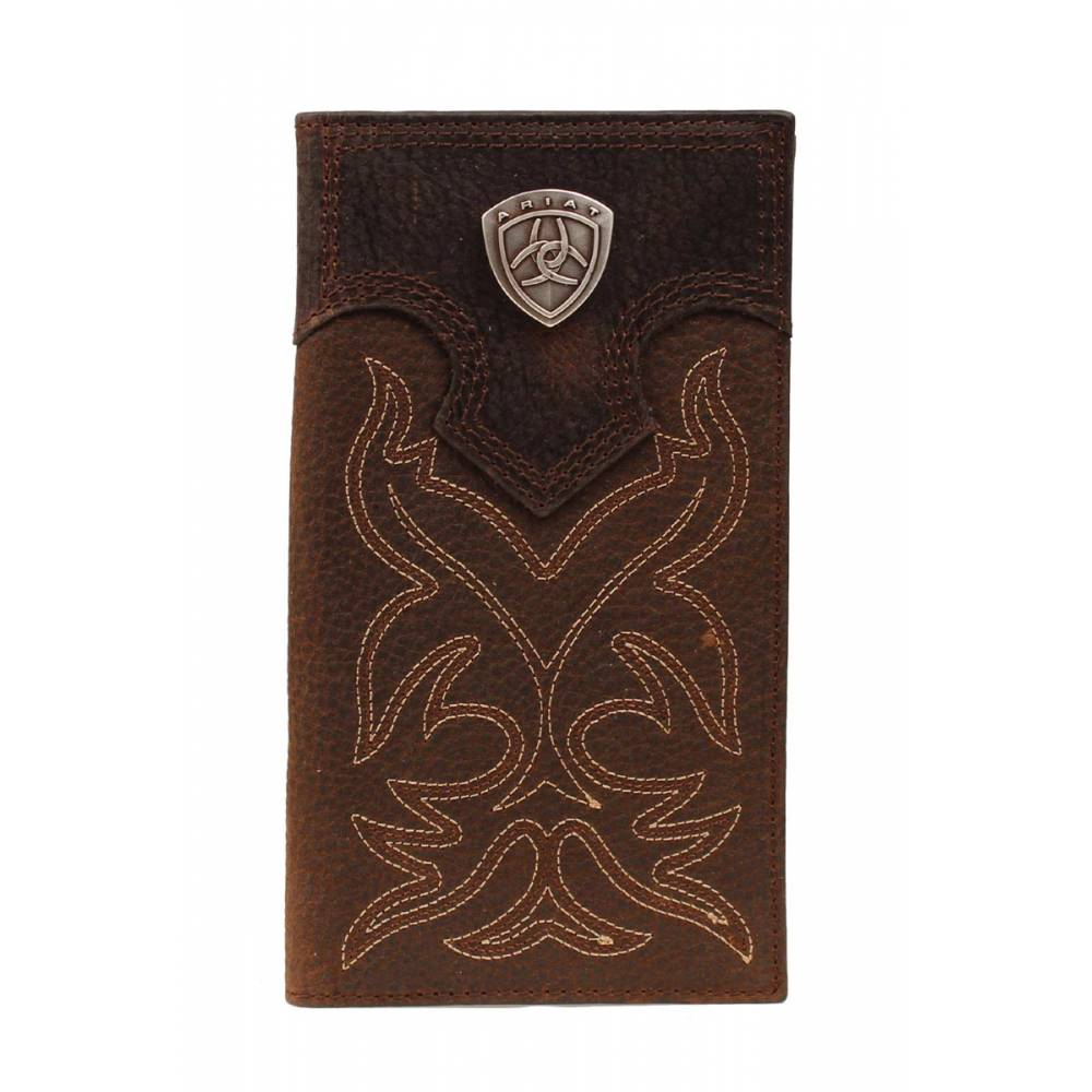 Ariat Men S Rodeo Wallet With Shield Horseloverz