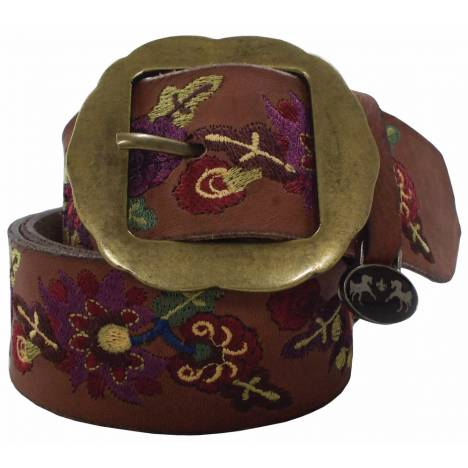 Equine Couture Ladies Veronica Leather Belt
