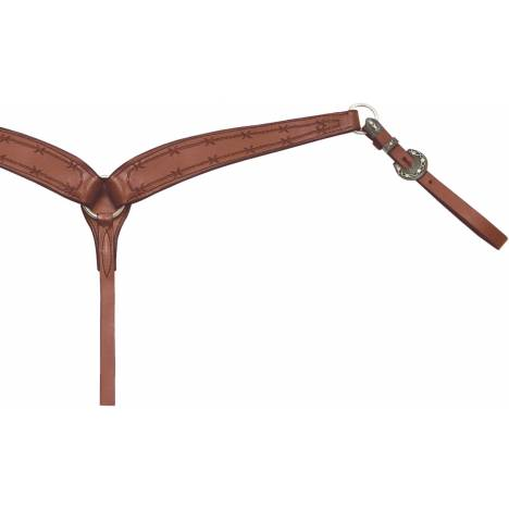 Billy Cook Saddlery Barbwire Competition Breast Collar