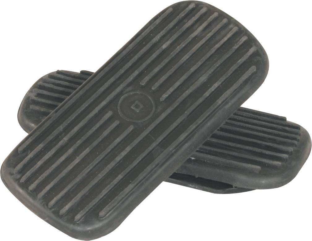 English Stirrup Rubber Replacement Pad White
