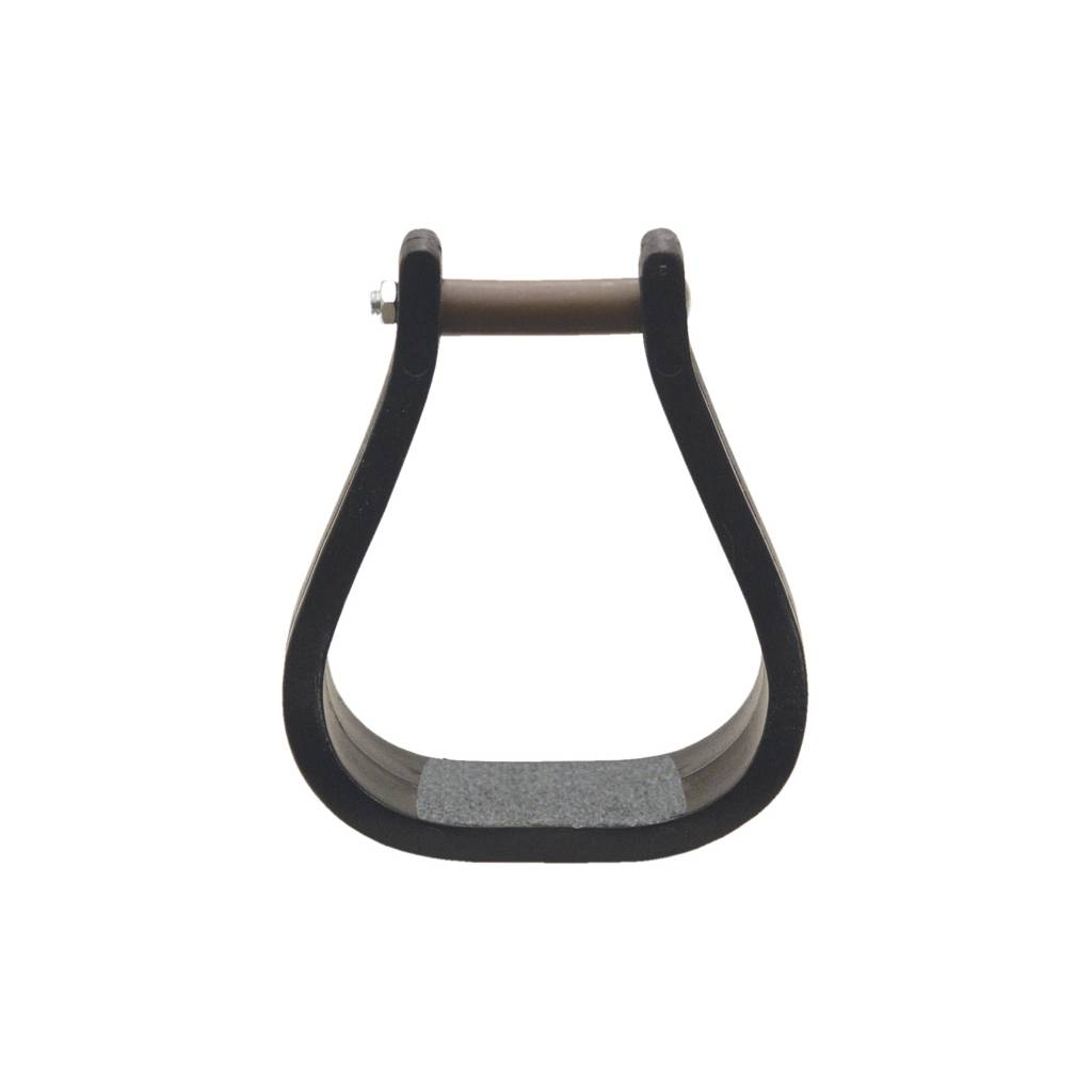 ABETTA Pro Tuff Bell Stirrups with No-Slip Tread