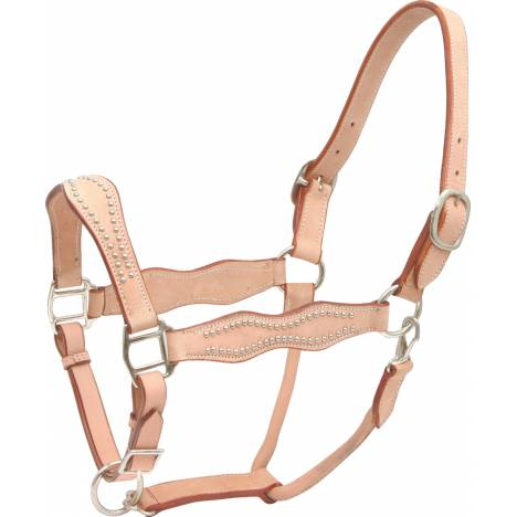 Cowboy Pro Scalloped Harness Leather Halter