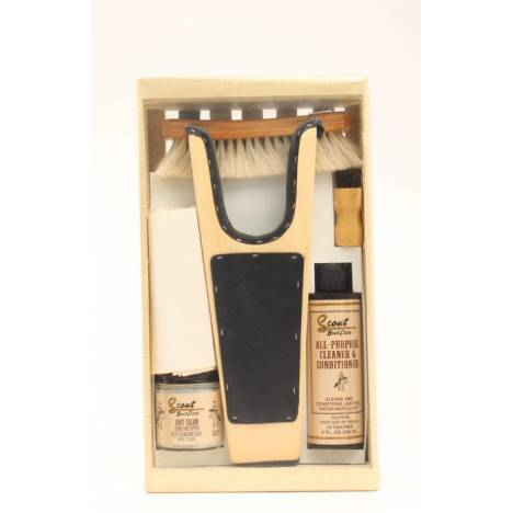 M & F Western Small Boot Care Gift Kit