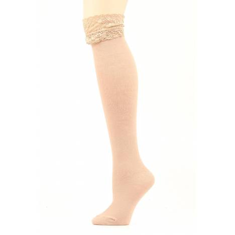 Blazin Roxx OTK Tall Lace Top Sock
