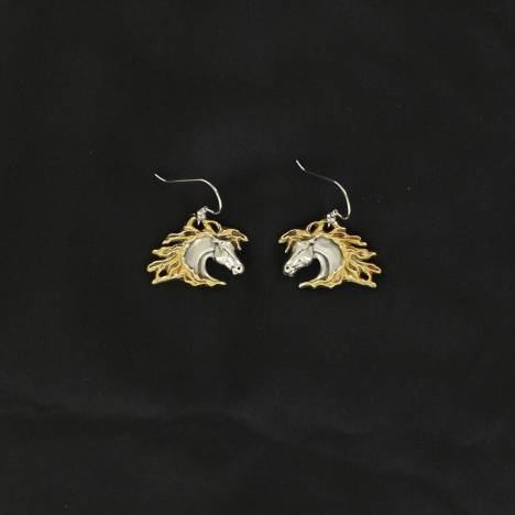 Lightning Ridge Horsehead Earrings