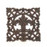 Western Moments Monarch Fleur Trivet
