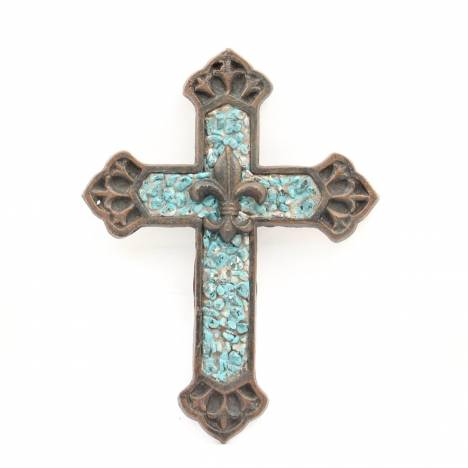 Western Moments Cast Iron Wall Cross