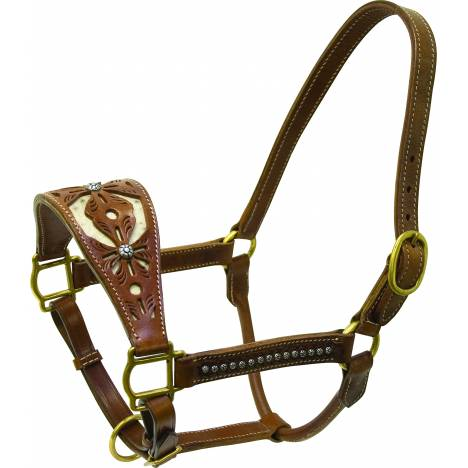 Cowboy Pro Filagree Leather Halter
