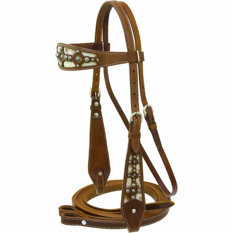 Cowboy Pro Filagree Headstall with Reins