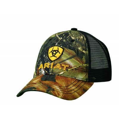 ARIAT Embroidered Logo Camo Cap  446fae1f0a2a