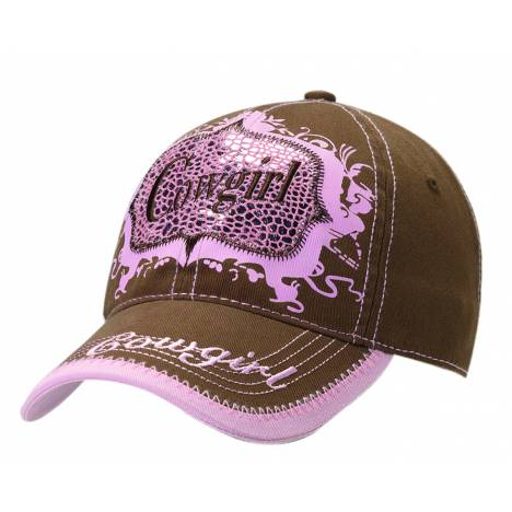 Blazin Roxx Ladies Metallic Cowgirl Cap
