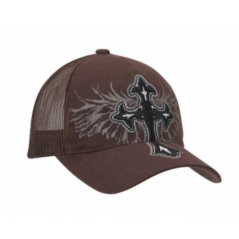 Blazin Roxx Ladies Cross/Wing Flex Fit Cap