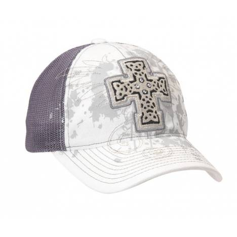 Blazin Roxx Ladies Graphic Cross Basebll Cap