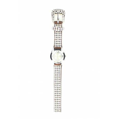 Blazin Roxx Womens Rhinestone Mesh Watch