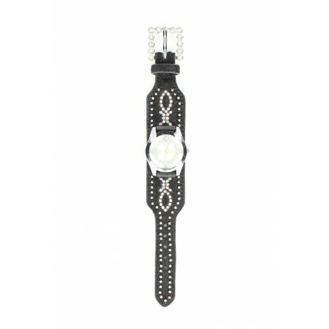 Blazin Roxx Womens Swarovski Crystal Hair Watch