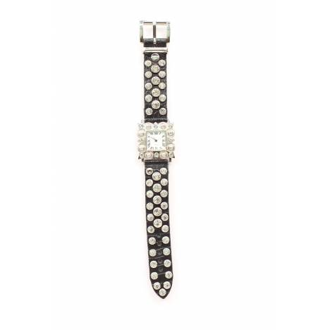 Blazin Roxx Womens Square Crystal Watch