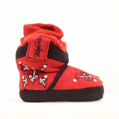 Blazin Roxx Infant Fleur with Crystals Slipper