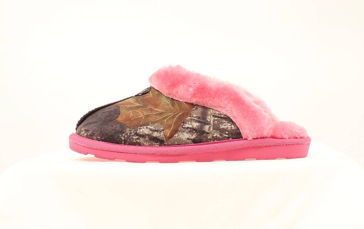 Blazin Roxx Ladies Sequin Fur Slide Slipper