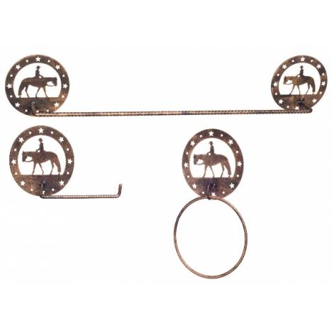Gift Corral 3-Piece Bathroom Set - Western Pleasure