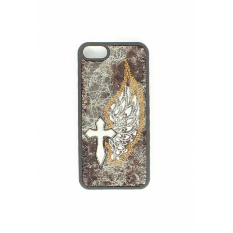 M&F Western Cross/Wing Iphone 5 Cover