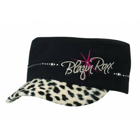 Blazin Roxx Youth Military Logo Offset Hat