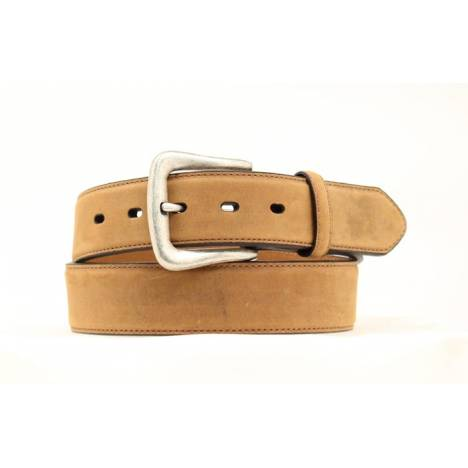 Nocona Mens Smooth Leather Belt