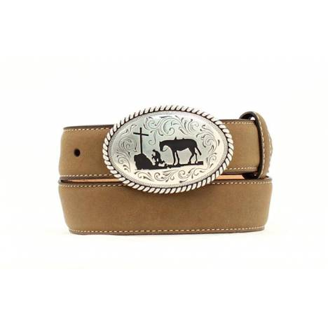Nocona Boys Cowboy Prayer Belt & Buckle