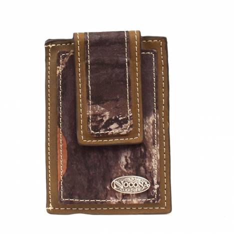 Nocona Front Pocket Camo Money Clip