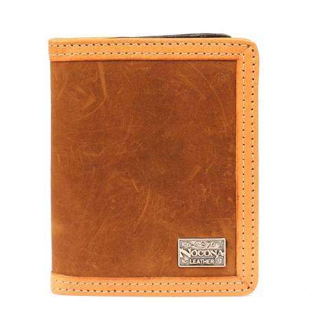 Nocona Smooth Leather Bi-fold