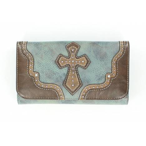 Blazin Roxx Cross/Star Concho Wallet