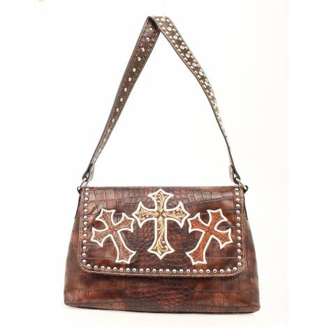 Blazin Roxx Three Crosses Shoulder Bag