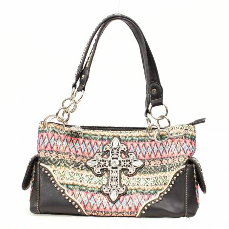 Blazin Roxx Southwest Cross Satchel