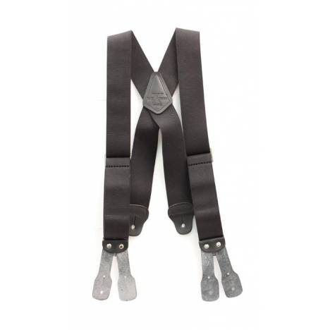 Nocona Hired Hand Elastic Button Suspender