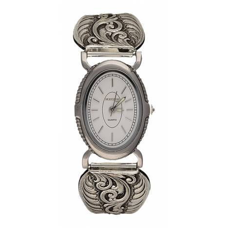 Montana Silversmiths Antiqued Filigree Ladies Expansion Band Watch