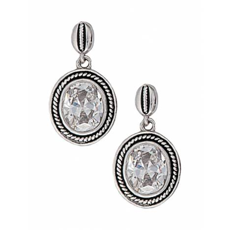 Montana Silversmiths Forever Cowgirl Drop Earrings