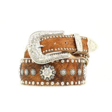 Nocona Wide Hide Conchos/Studs Belt