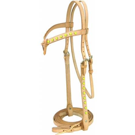 "Cowboy Pro Headstall with 84"" Reins"