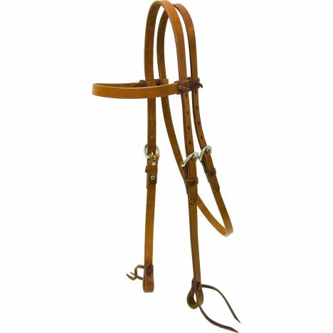 Cowboy Pro Laced Browband Headstall