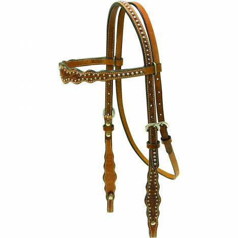 Cowboy Pro Scalloped Headstall