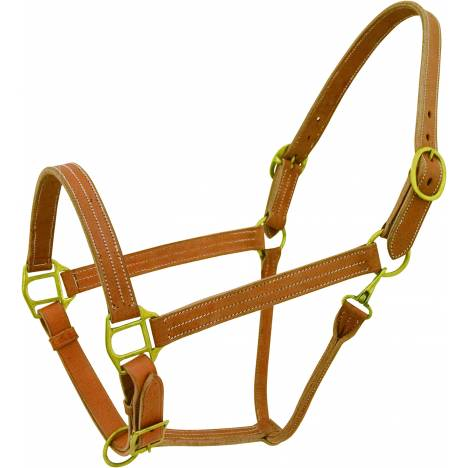 Cowboy Pro Triple Stiched Leather Show Halter