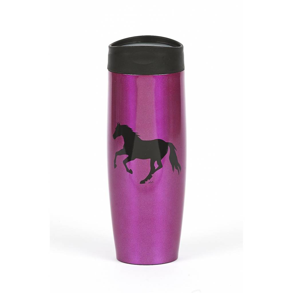 Lila Blakeslee Stainless Steel Tumbler with Galloping Horse